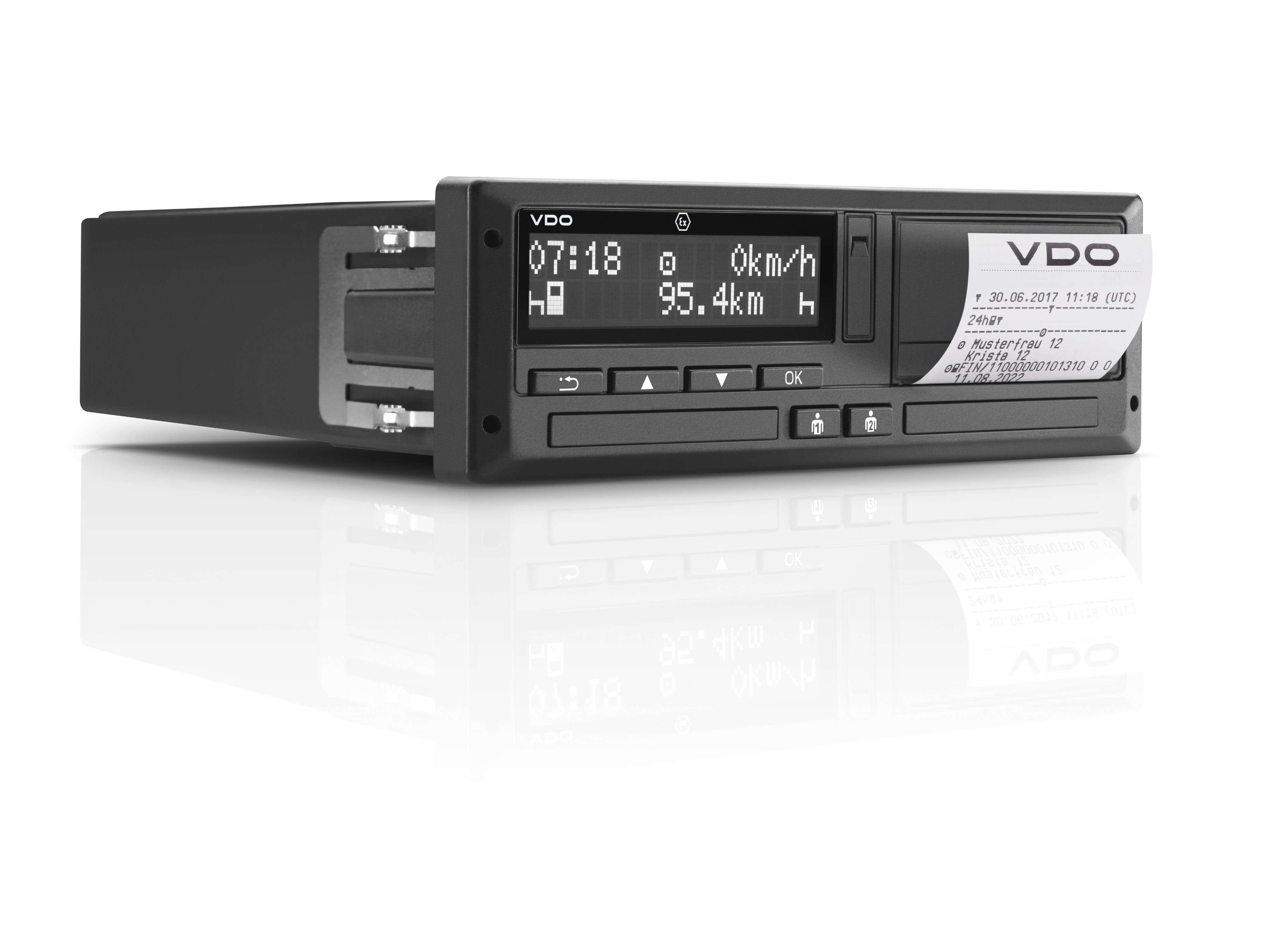 how to read a tachograph