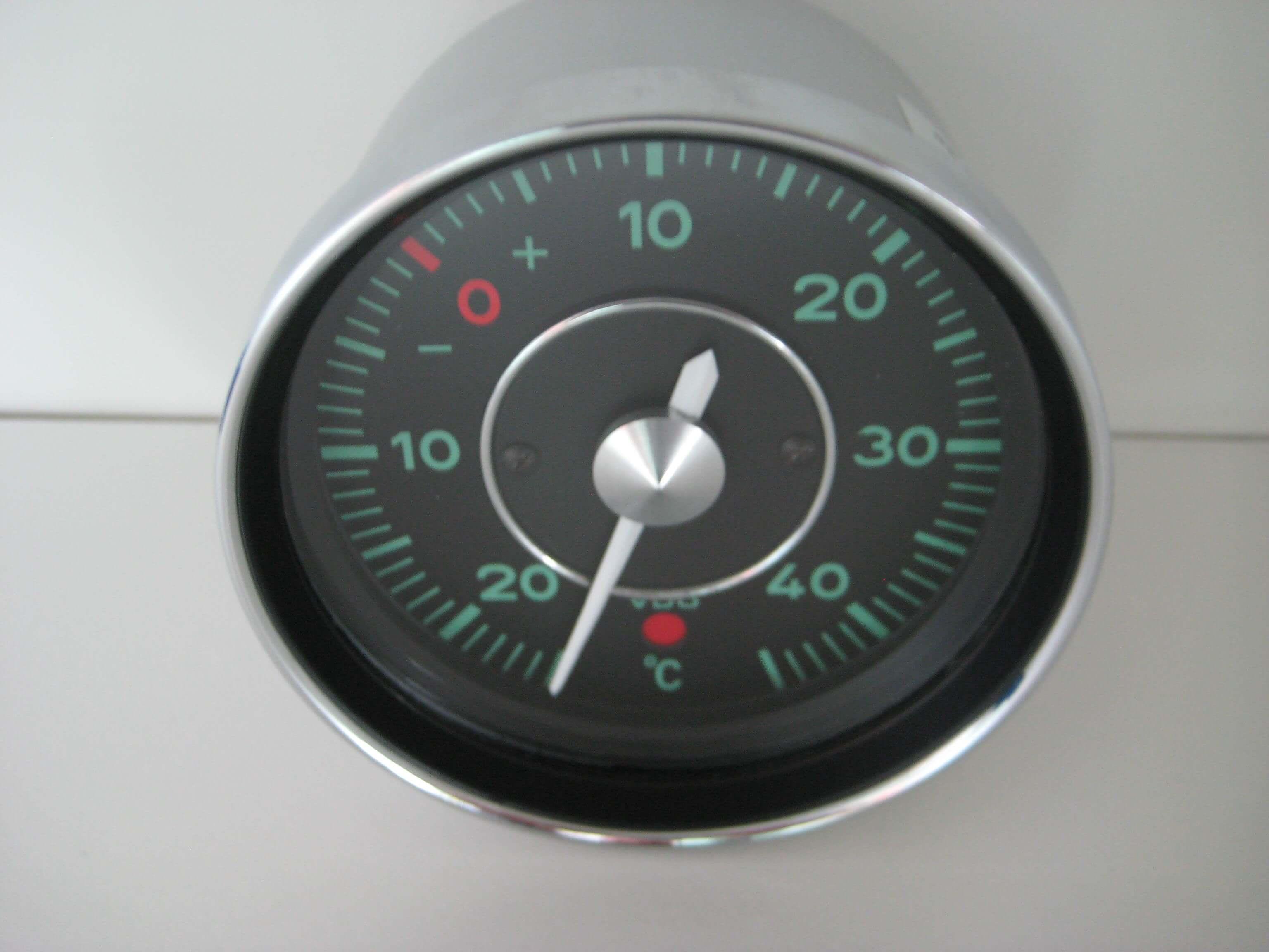 porsche_911_912_aussentemperatur Elegantes Uhr Mit Temperaturanzeige Dekorationen